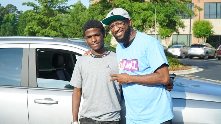 Rickey Smiley And Friends Gift Corey Patrick With A New Car [VIDEO]