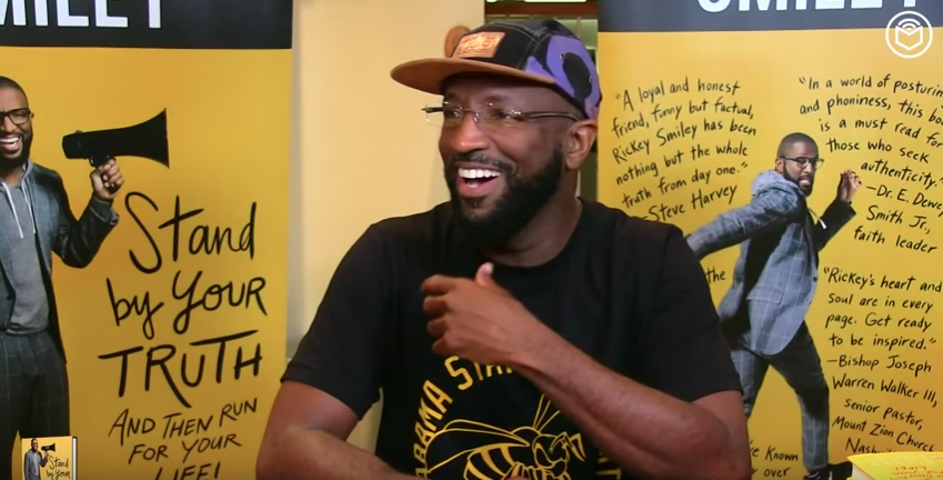 """Rickey Smiley Does Live Q&A With Fans About New Book """"Stand By Your Truth"""" [VIDEO]"""