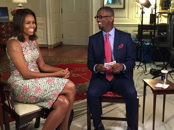 Michelle Obama Talks About Her Political Future [EXCLUSIVE INTERVIEW]