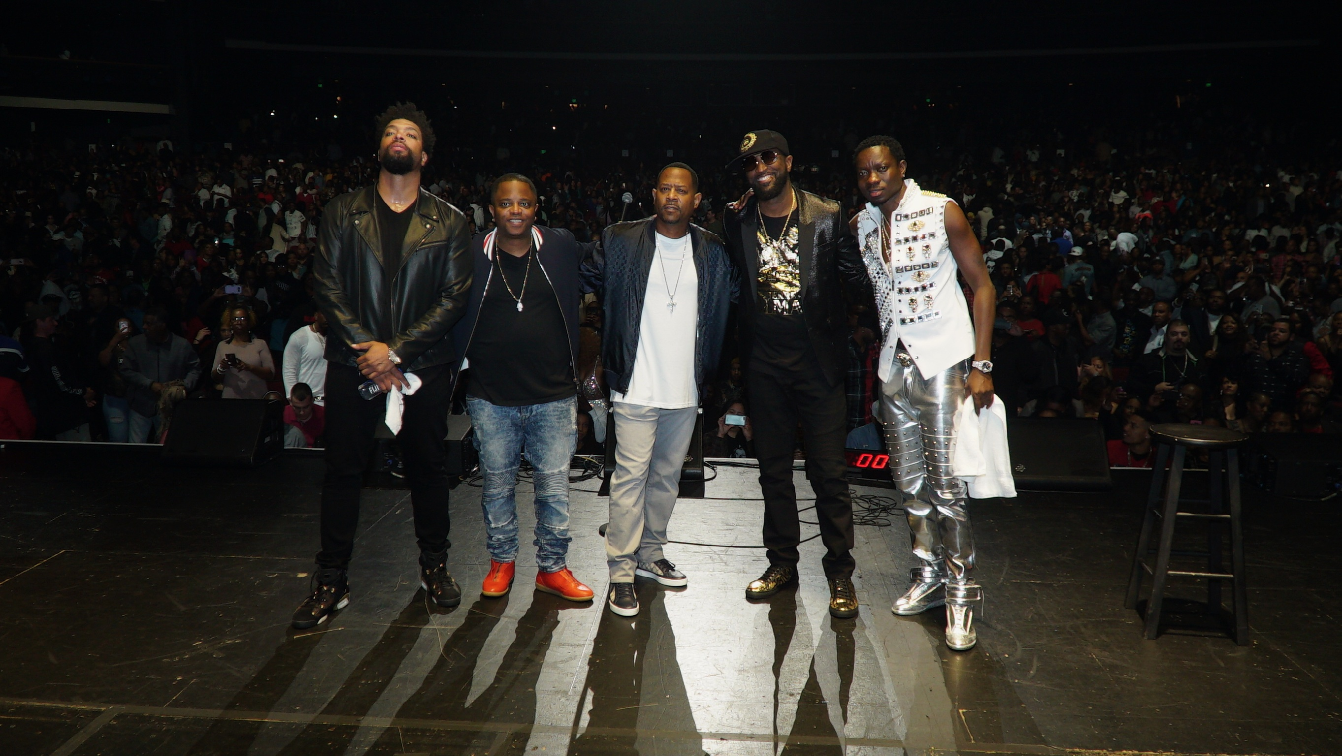 Rickey Smiley Talks About His First Night Performing On The LIT AF Tour [EXCLUSIVE]