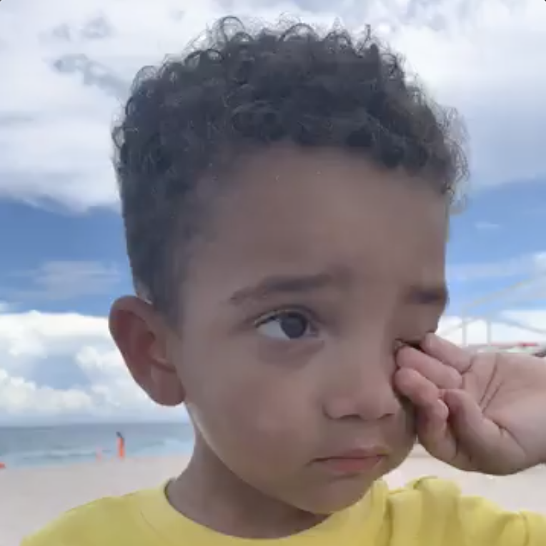 My Grandson Tells Me About The Trouble He's Been Getting Into [VIDEO]