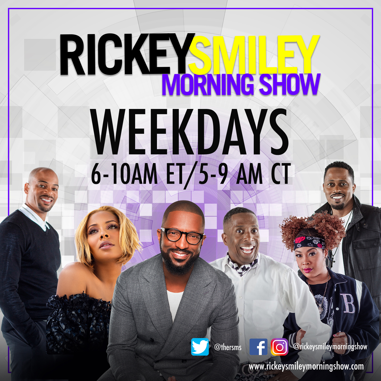 """Watch """"The Rickey Smiley Morning Show"""" Visuals On & Off The Air! (05/26/21) [VIDEO]"""